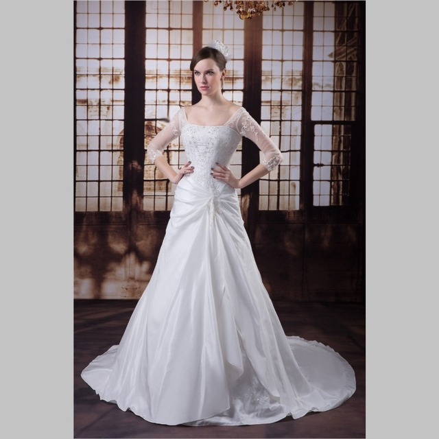 Aliexpress.com : Buy iLoveWedding Ball Gown Wedding Dresses Formal ...