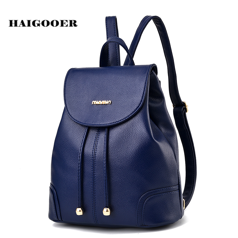 72dbdc444c New Female Backpack Spring and Summer Students Fashion Casual Korean  Shoulder Bag Women Mini Cute Backpacks Drawstring Bags-in Backpacks from  Luggage & Bags ...