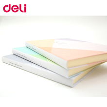 Deli new listing hardcover notebook have month plan check list day plan and black pages many chooses/type composition book цены