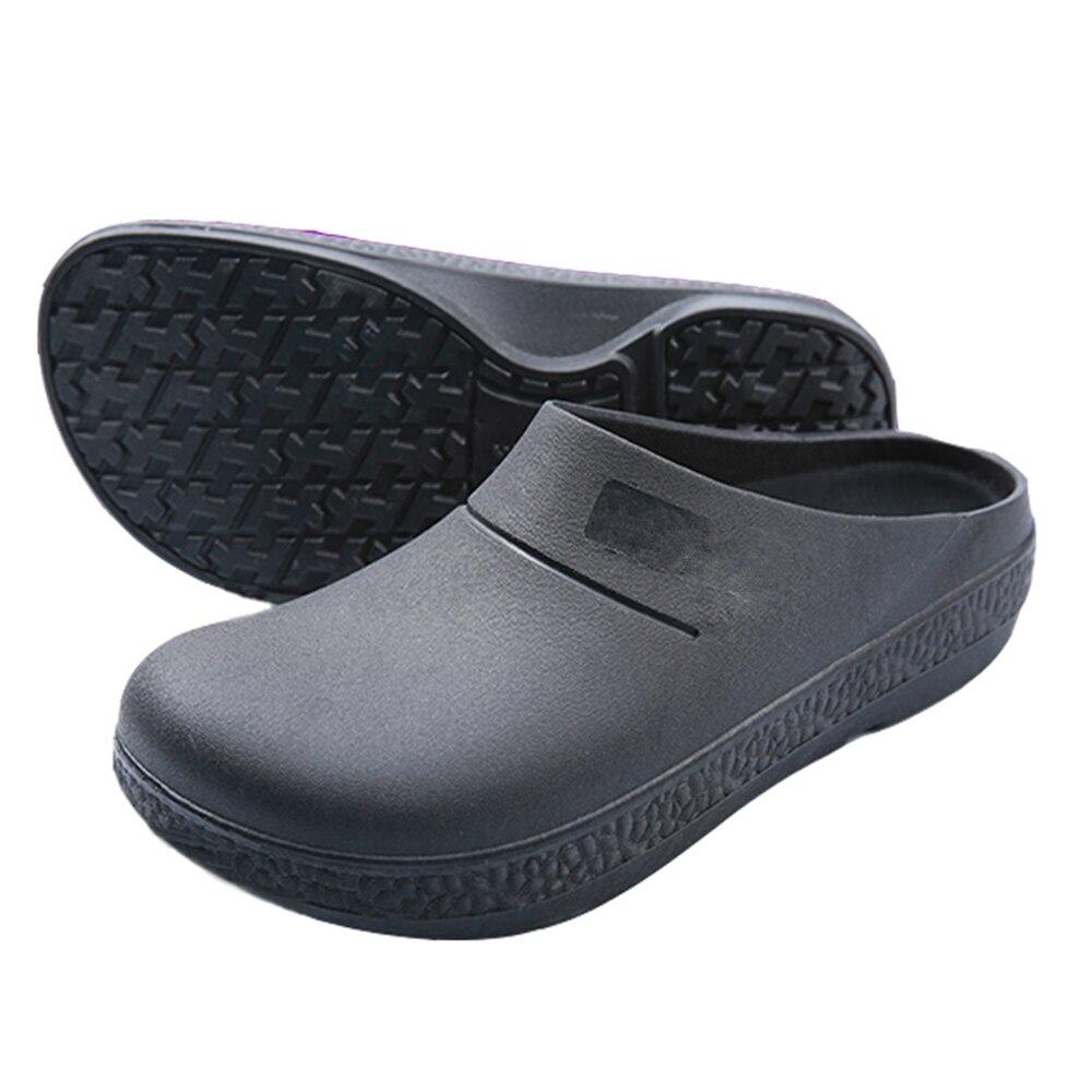 Chef Shoes Restaurant Slippers Men Non