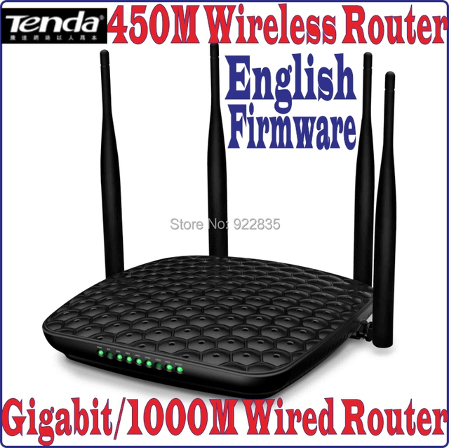 Eng Firmware] Gigabit Wired Router 450Mbps 450M Wireless Router ...