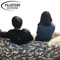 Brand YUETOR  Beach camping sleep Air Bed Lounger laybag Outdoor Hangout  fast folding sleeping inflatable sofa lazy bag
