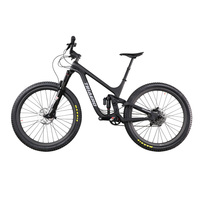 ICAN Newest 27.5er MTB bike full suspension 150mm travel enduro boost mountain bicycle full carbon suit 110*15/148*12mm axle