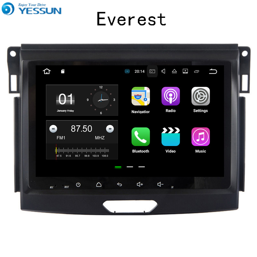 YESSUN For Ford Everest 2010~2017 Car Navigation GPS Android Audio Video HD Touch Screen Stereo Multimedia Player No CD DVD