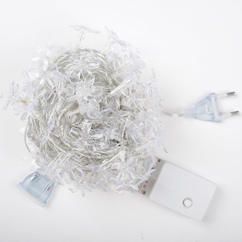 10m 100led череша многоцветен LED гирлянди - Празнично осветление - Снимка 4
