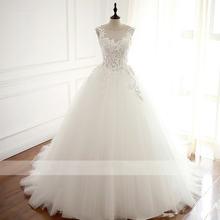 Женское свадебное платье it's yiiya Белое Бальное Платье