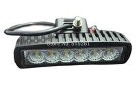 20 CÁI LED cho Xe Tải Nhẹ Bar cho Chỉ Số Xe Máy Lái Xe Offroad Thuyền Xe Máy Kéo Điểm Đèn DC 12 V 6 Inch 18 Wát