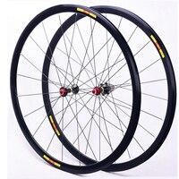 MEROCA 自転車ロードホイールセット 700C フロント 20 リア 24 穴超軽量 8 9 10 11 スピードバイクホイール