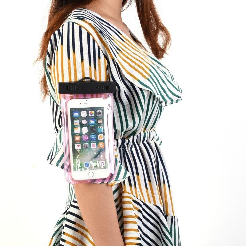Практическая рука с пункт уплотнение Водонепроницаемый сумка мешок мобильного телефона/рафтинг Водные виды спорта <font><b>Essential</b></font>