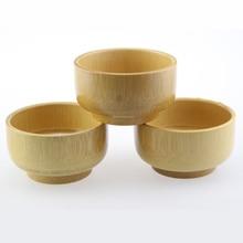 Pure Natural Bamboo Bowl Creative