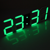 Super large size digital electronic wall   clock   Modern fashion LED electronic   clock   Living Room usb   clocks
