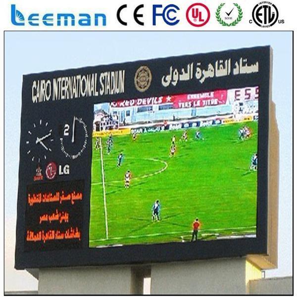 Leeman полноцветный P8 вел спортивный стадион по периметру экрана рекламный щит для рекламы на щитах дисплей led крикет цифровой