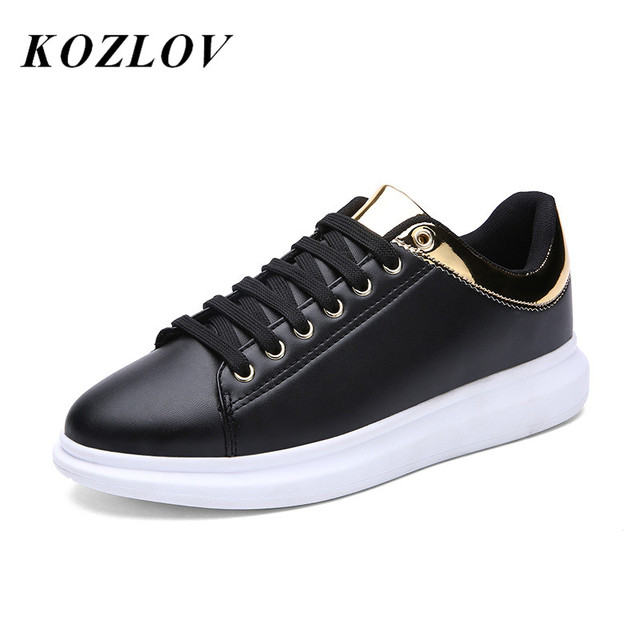 48bf89bddd KOZLOV Italian Mens Shoes Casual Luxury Designer Fashion Creepers Shoes Men  High Quality Platform Shoes Men
