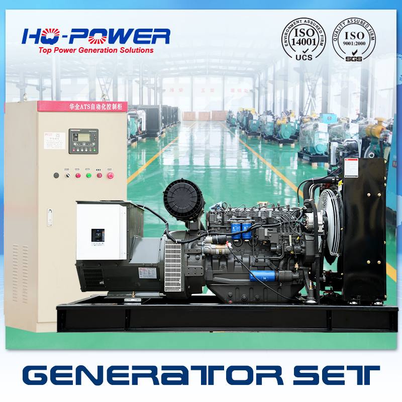 Deutz engine 180kva ac three phase 220 volt diesel generator set prices