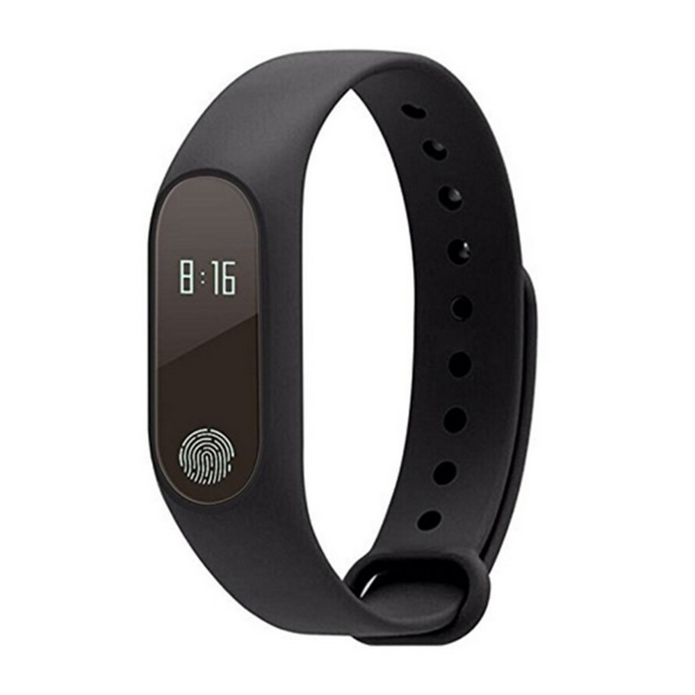 Podómetros impermeable Bluetooth Smart Band Running Sport Fitness pulsera Monitor de sueño inteligente OLED Touchpad ritmo cardíaco