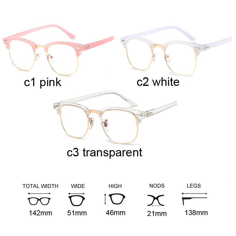 f329c548ec1 Korean fake glasses frames women transparent oculos clear lens square glasses  fashion optical frame eyeglasses oculos