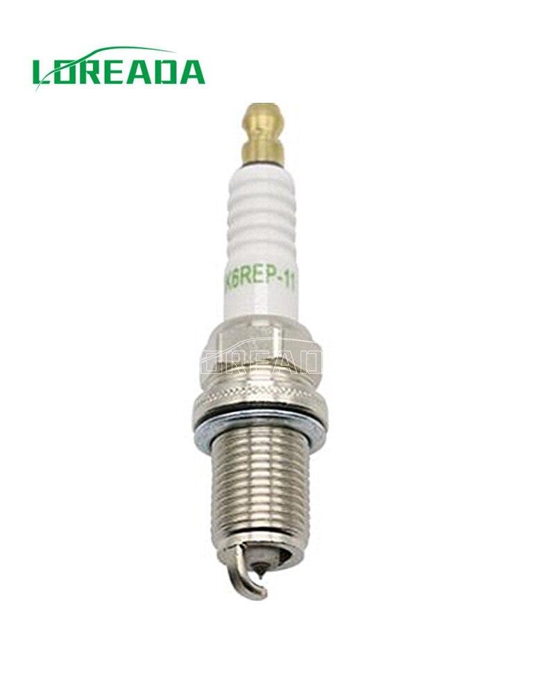 100% test Spark plug for Audi A4 1.8L 3.0L ,A6 3.0L  Dodge Stratus 2.4L 2.7L 3.0L F8DPER BK6REP11 90919-01210