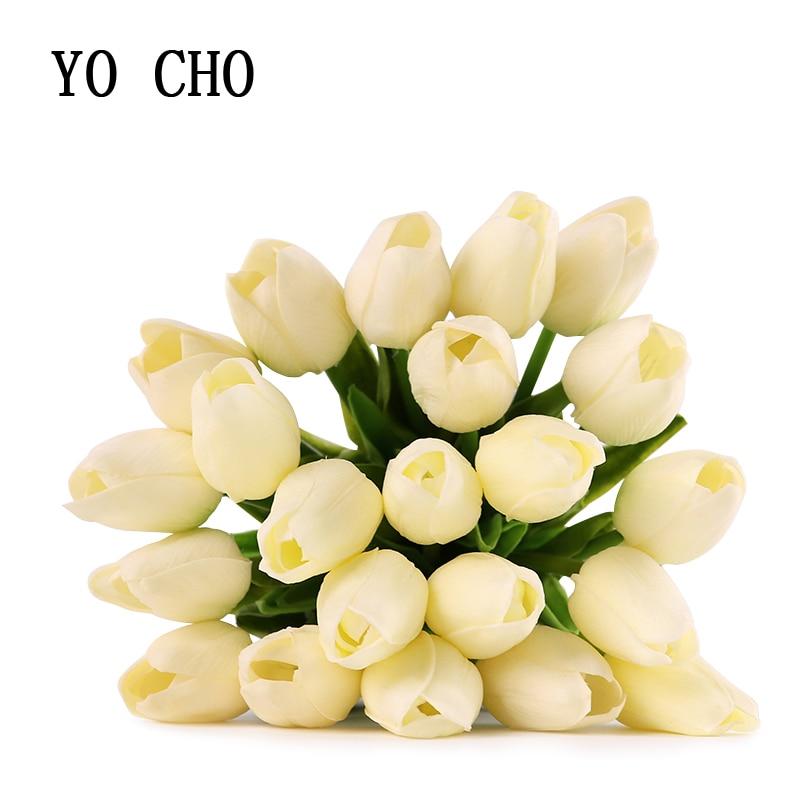 Yo Cho De Mariage Accessoires Decoration Tulipe Fleur Mariee Bouquet