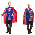 OHCOS King Costumes Prince Cosplay Men Halloween Costume Christmas Party Cos Clothing