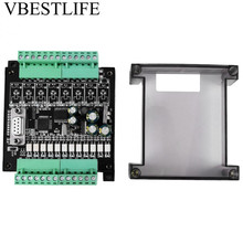 fast shipping china high quality xinje programmable logic controller plc module xc3 series DC 24V PLC Controller Regulator Module Industrial Programmable Logic Controller Control Board w/Case