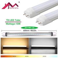 Taoguang Lighting 1 Pcs Lot Super Bright Fluorescent LED Tube Lamp 60cm 10W 48leds 2835 SMD