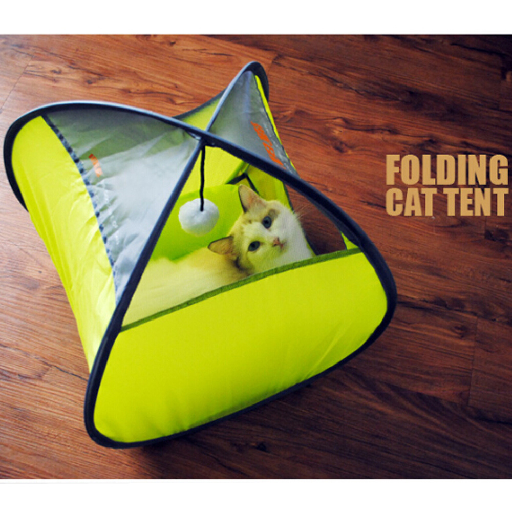 Foldable Anti mosquito Cat Tent Small Dog House Pet Dog Bed Cat Bed House Travling Pet Tent Sleeping Bag Pet Dome Cat Toy/Tunnel-in Houses Kennels u0026 Pens ... & Foldable Anti mosquito Cat Tent Small Dog House Pet Dog Bed Cat ...