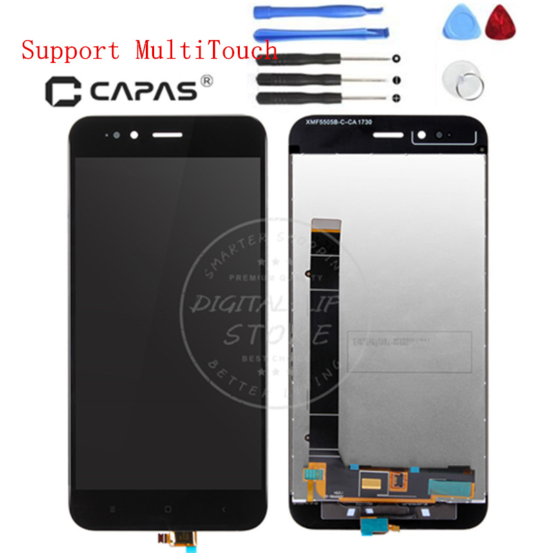 For Xiaomi Mi 5X A1 LCD Display Digitizer Frame Complete LCD Touch ...