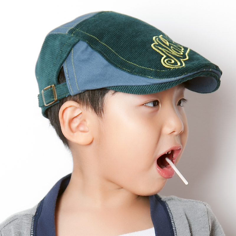 ca6a5691f3b 2018 Fashion New Kid Boys Beret Hat Stripe Letter Design Baby Boy Hats For Children  Hat Bonnet boina infantil