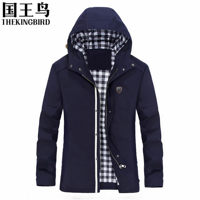 New Fashion Spring Autumn male casual jacket hooded patchwork mens jackets and coats chaquetas hombre plus size 5XL 1317#