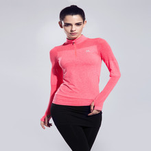New arrival Winter Women Sport Jacket Running sweater Coat Quick-dry Long-sleeve Sweatshirt Fitness Outerwear Breathable Jacket