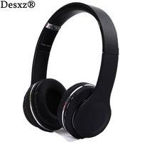 Desxz D23 Earphones Wireless Bluetooth Headphones Headset Foldable Headphone Adjustable With Mic FM Radio TF Slot
