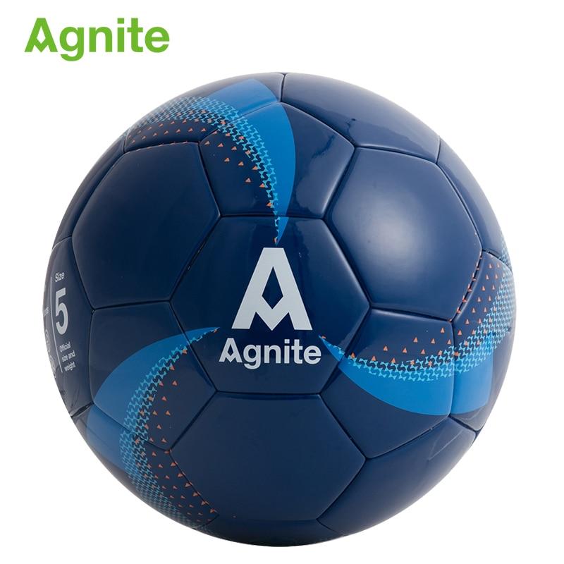 Detalle Comentarios Preguntas sobre Agnite 2018 Oficial n. ° 5 juego de  fútbol profesional para adultos pelota de fútbol PU resistente al desgaste  regalos ... a5a2e0167b90e