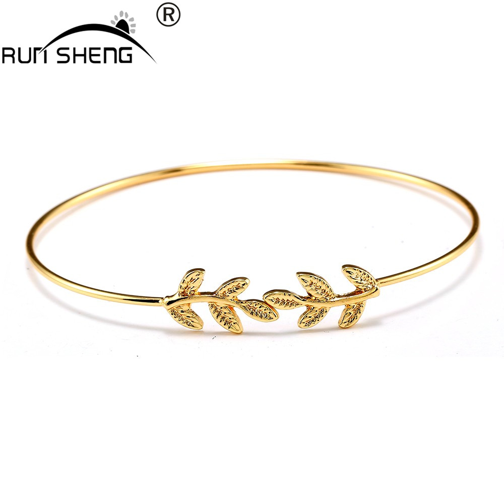 amazon piece gold with com link plated end bracelet yellow open i jewelry crystal bangle bangles