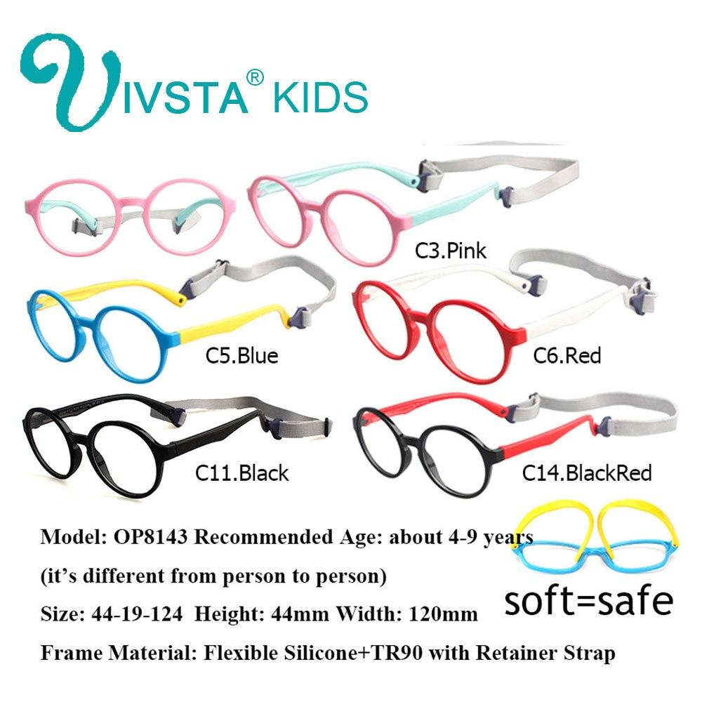 Tutucu ile Stap IV90A Stap TR90 Plastik Titanyum Çocuk Gözlük - Elbise aksesuarları - Fotoğraf 2