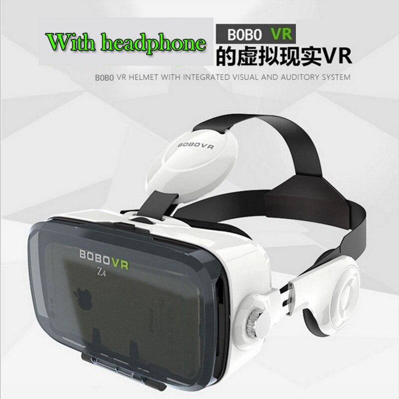 <font><b>High</b></font> <font><b>Quality</b></font> 3D VR <font><b>Glasses</b></font> Virtual Reality <font><b>Glasses</b></font> BOBOVR Z4 With <font><b>Stereo</b></font> Headphone Google Cardboard VR Box Game Private Theater