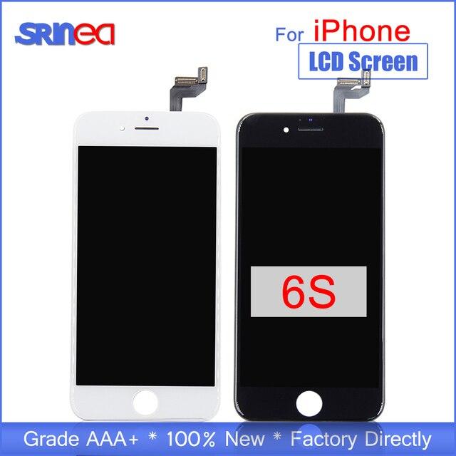 """ЖК дисплей для Iphone 6s сменный оригинальный ЖКД экран и дигитайзер сборка Iphone 6s 6s 3d сенсорный 4,7 """"ЖК дисплей s тест"""