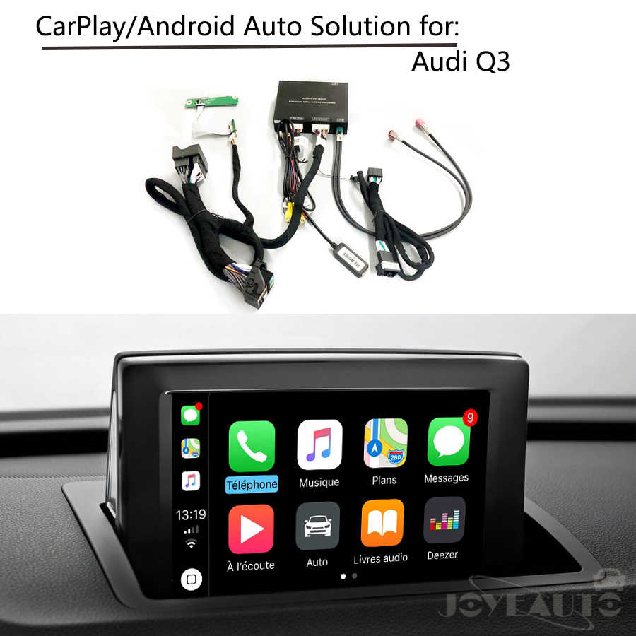 Car multimedia Aftermarket Integration Q3 Low MMI OEM Apple Carplay Android  Auto Retrofit Solution Box IOS Airplay for Audi