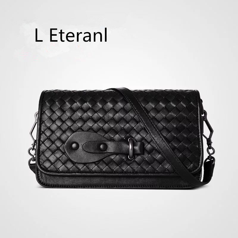 L Direct Selling New Arrival Eteranl 2017 Knit Shoulder Pure Genuine Leather (sheepskin)single Women's Bags High-capacity Bag
