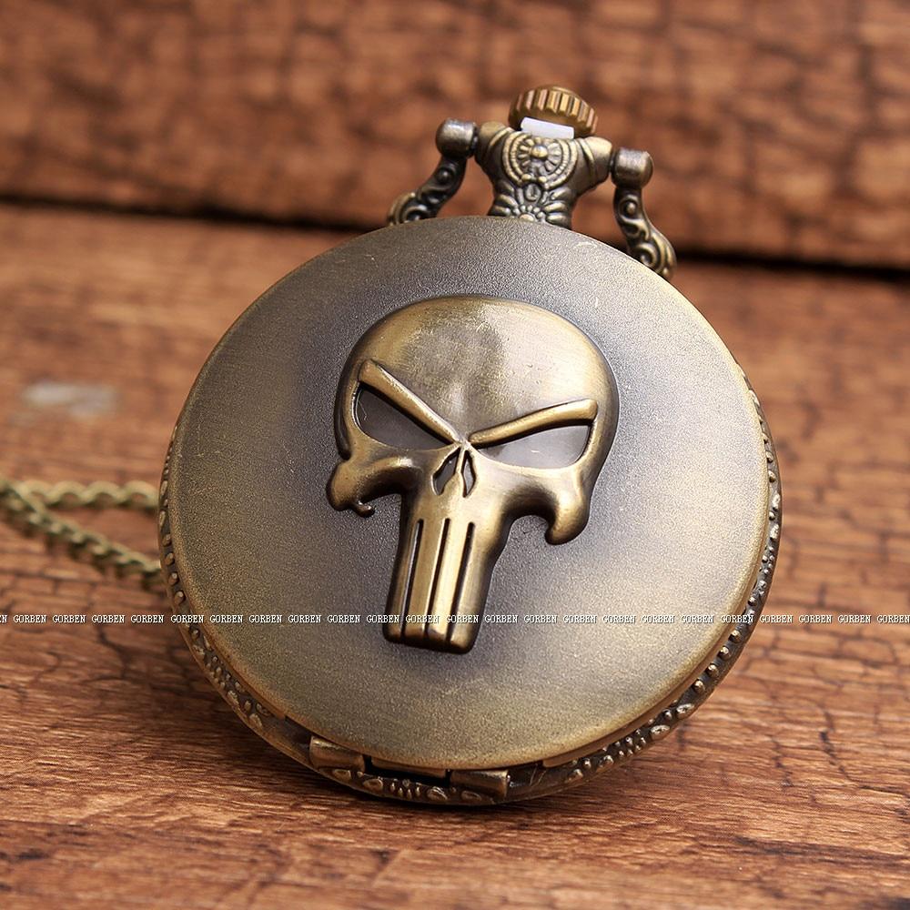 One Piece Skeleton Vintage Skull Pocket Watch - One piece ...