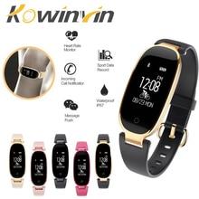 Bluetooth Водонепроницаемый S3 Смарт-часы модные женские туфли женские монитор сердечного ритма Фитнес трекер Smartwatch Mujer для IOS и Android