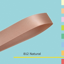 "2"" inch (50mm) Single sided satin ribbon"
