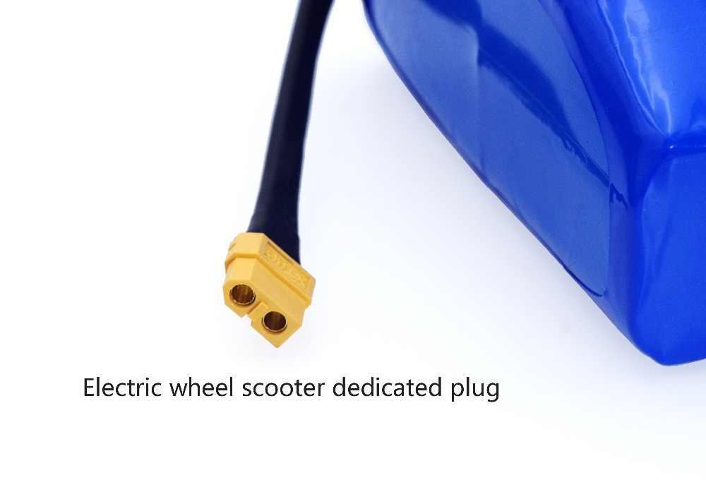 """36 v 5.2Ah 5200 mah hoge drain 2 wiel elektrische scooter self balancing lithium batterij pack voor zelfbalancerende past 6.5 """"7"""""""