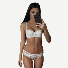 22ed4ff2d CINOON Sexy Lingerie Lace Bra Set Push Up Underwear Bow Lingerie Sets  Fashion Women Intimates 1
