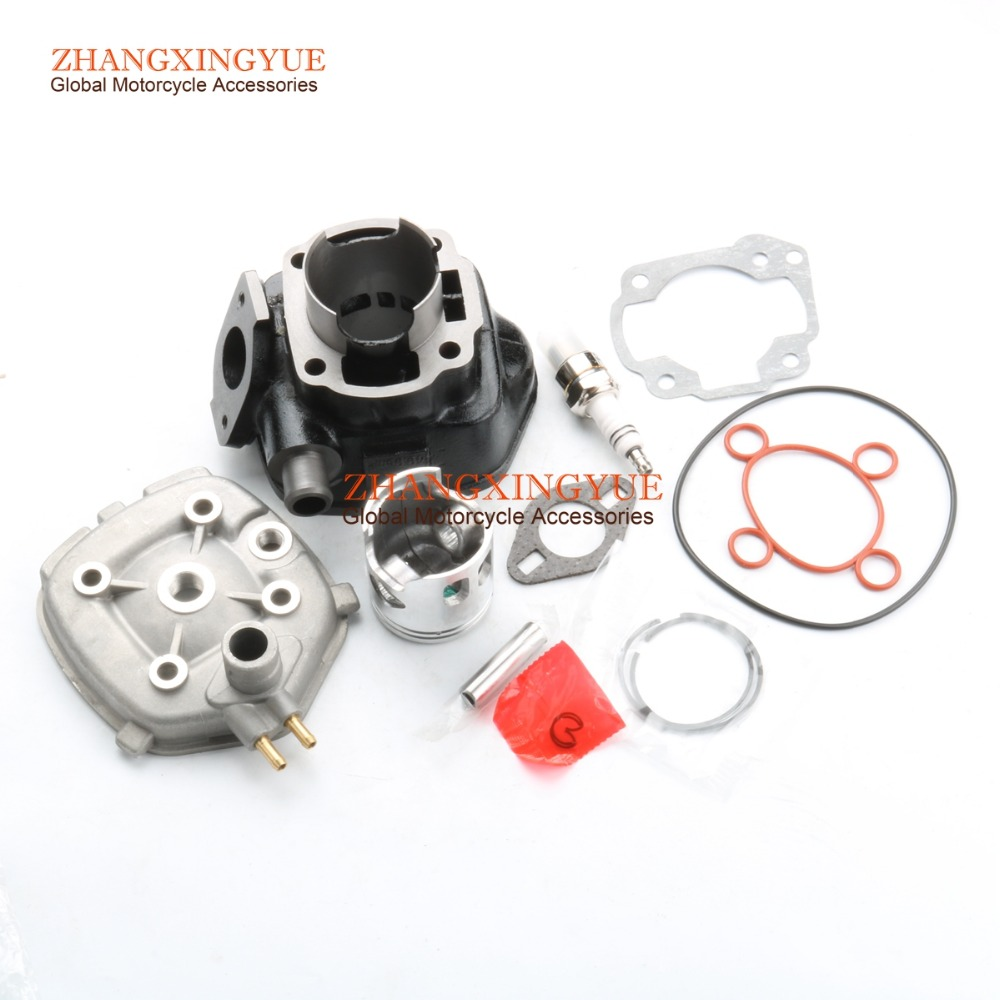47mm 70cc Big Bore Cylinder Barrel Kit & Head for ITALJET Dragster Formula Lc 50CC 2T gy6 80cc 47mm cylinder kit