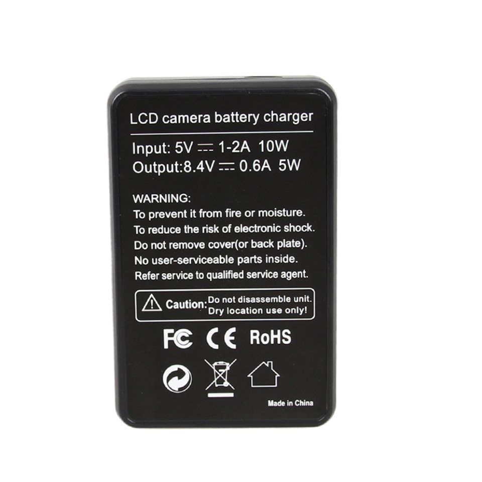 USB Cable LCD Battery Charger EN-EL23 ENEL23 Recharge For Nikon Coolpix S810c P900 P900s P610 P600 B700 MH-67P Cameras