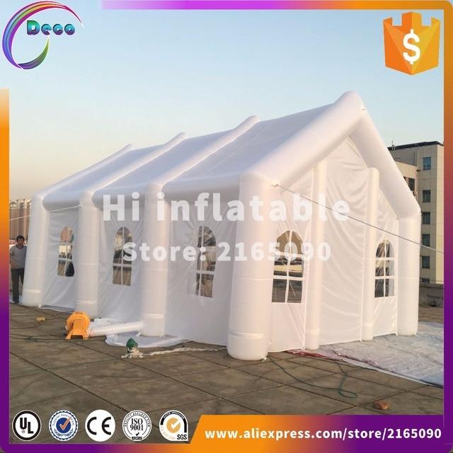 white colour 8*4*4m Custom made large white inflatable wedding part & Aliexpress.com : Buy white colour 8*4*4m Custom made large white ...