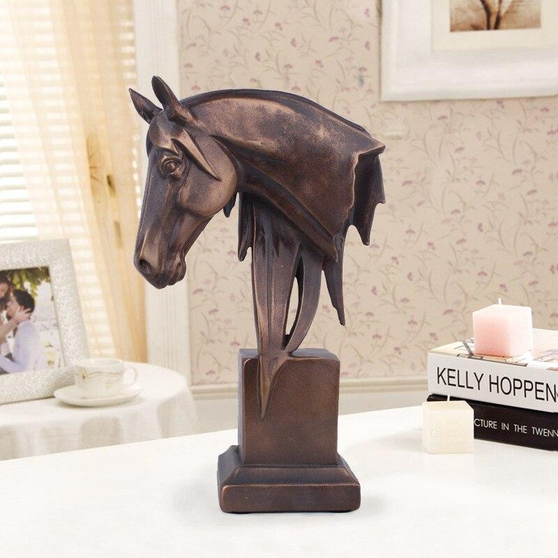 Charmant Runsheng Neue 2018 Harz Pferd Modell Figurine Vintage Designer Wohnkultur  Zubehör Kunsthandwerk Miniatur Dekoration AT53099