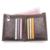 CONTACT'S Brand Wallet Casual Anchor Impreso Diseño Hombres Carteras de Cuero Genuino Con El Titular de la Tarjeta y Monedero Para Hombre