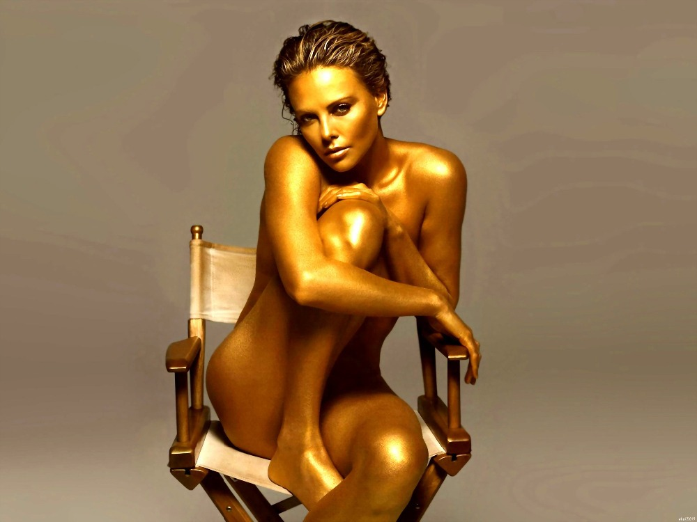 charlize theron nude body