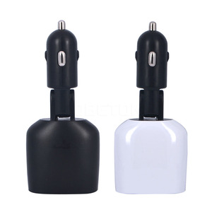 Image 4 - 4 in 1 Dual USB Car Charger Adapter 2 Port 3.4A low voltage alarm for iPhone 6 6s ipad Samsung led display current voltage